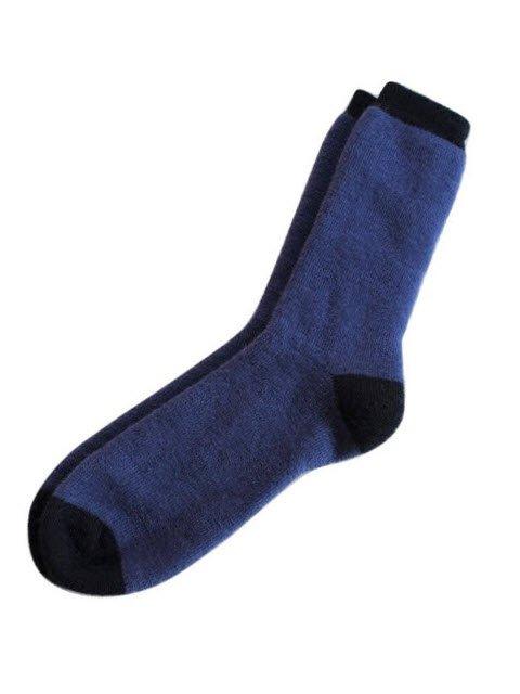 Classic Solid Alpaca Socks