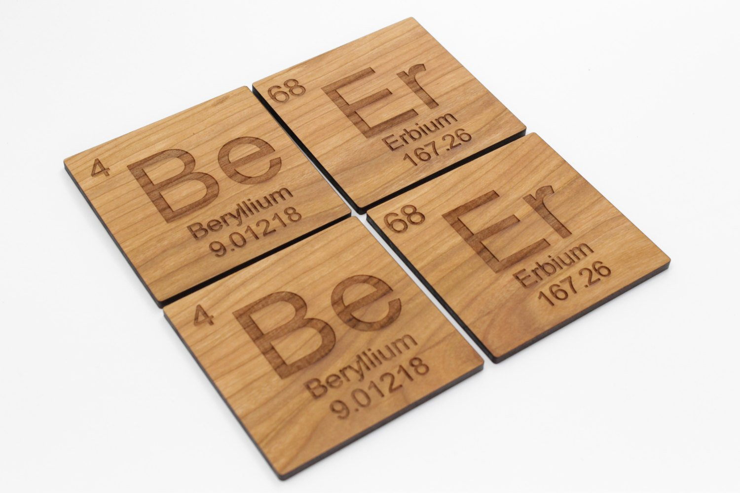 Beer Coaster Set of 4