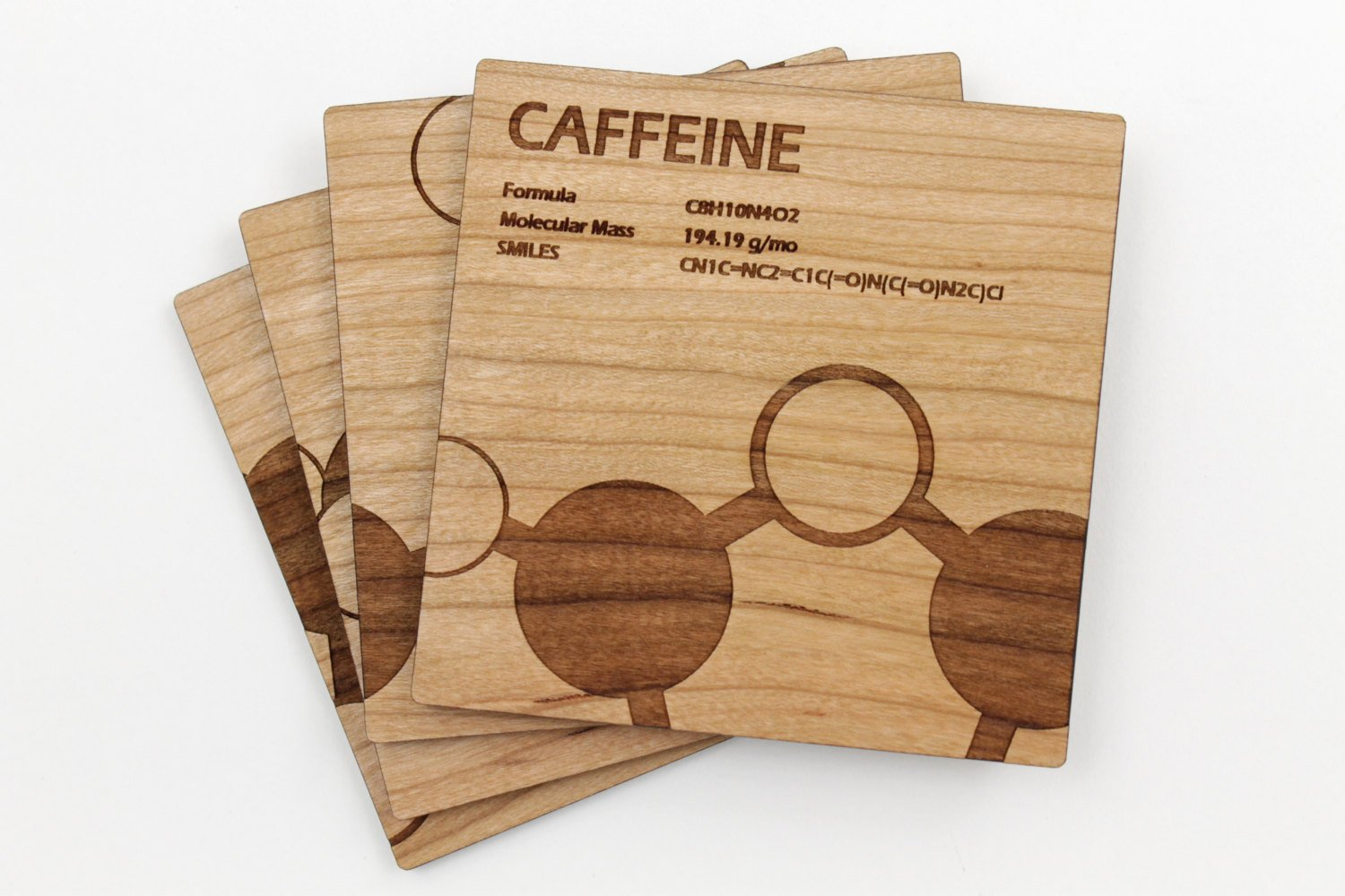 Caffeine Coaster Set/4