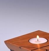 Triple Tealight Centerpiece