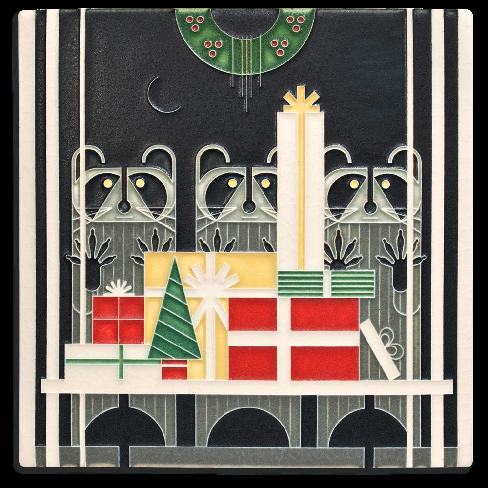 Gift Rapt 8x8 Tile