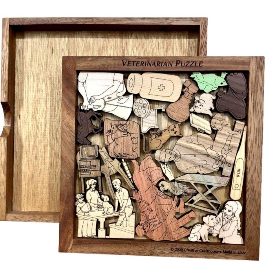 Veterinarian Wood Puzzle