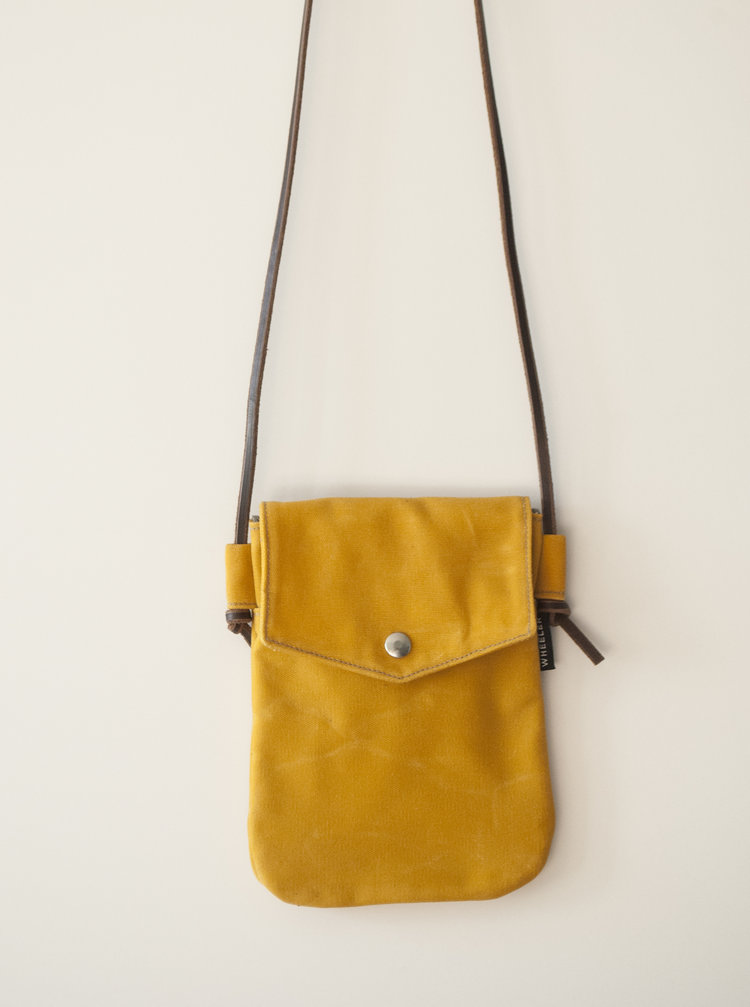 Simple Yellow Crossbody Bag