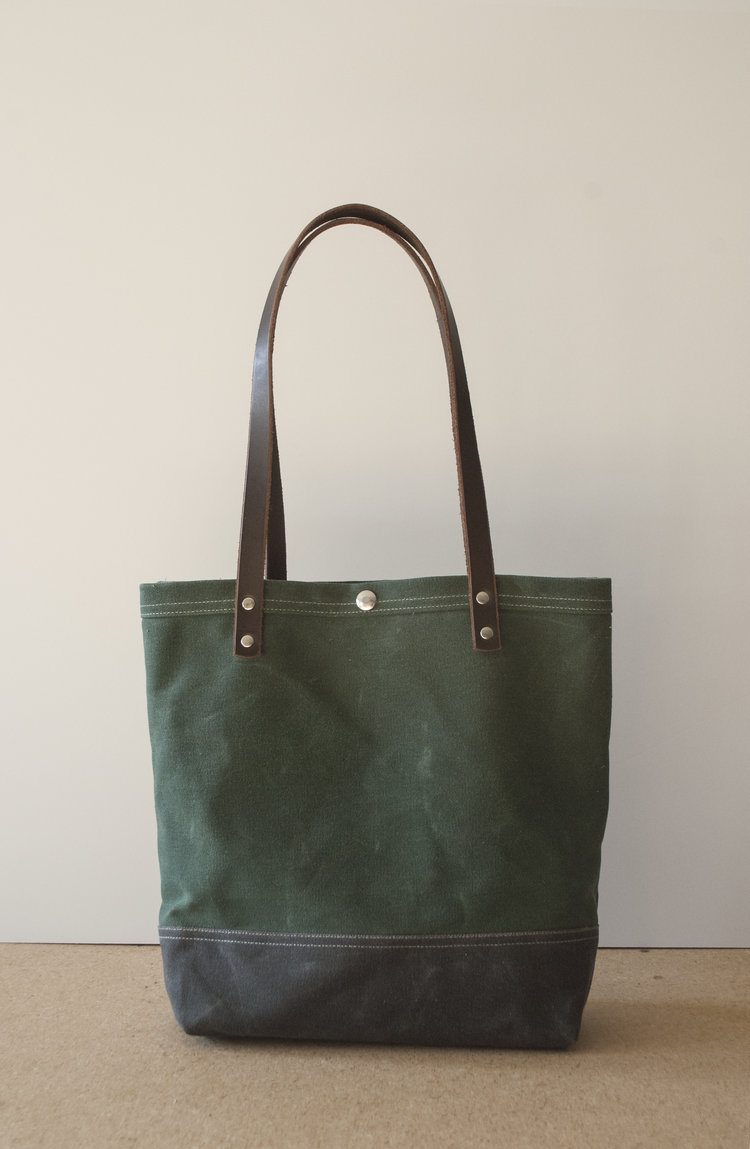 Utility Hunter/Grey Tote Bag