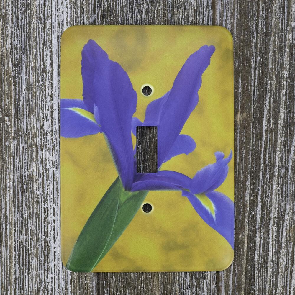 Flower Light Switch Plate