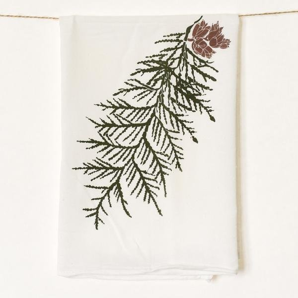 Cedar Kitchen Towel