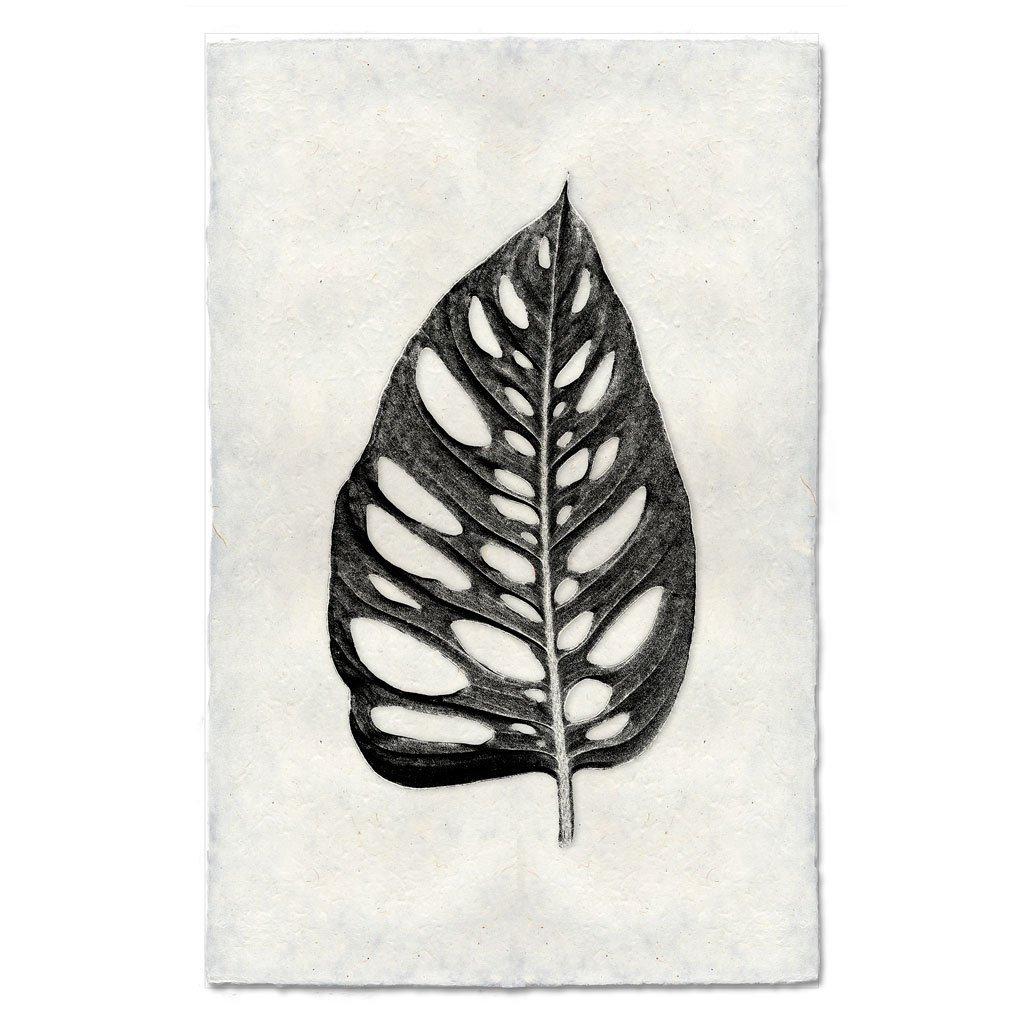 Holey Leaf Print