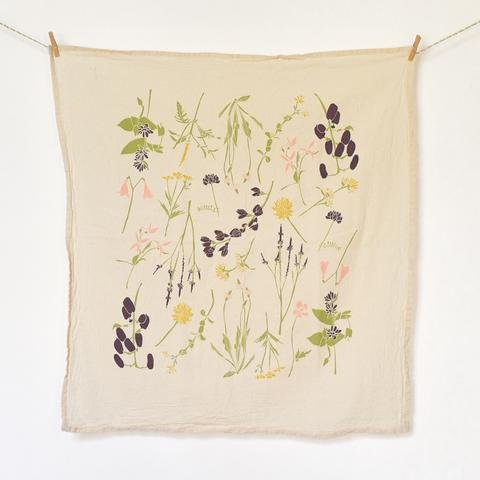 Eastern Region Wildflower Towel
