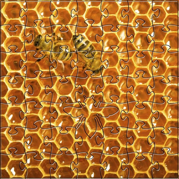 Honeybees Small Zen Puzzle