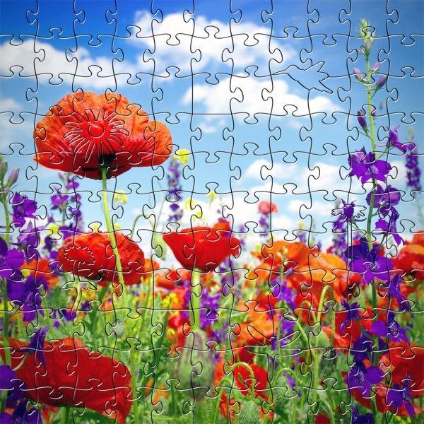 Wildflowers Zen Puzzle