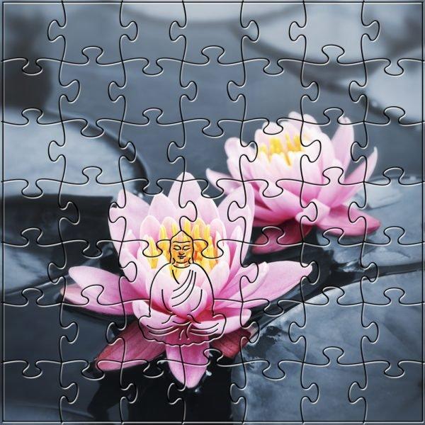 Lotus Blossom Zen Puzzle
