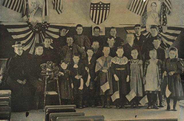 First Hot Sulphur Springs School