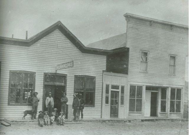 Hot Sulphur Springs, Colorado Adams Mercantile & Kennedy Post Office - 1900