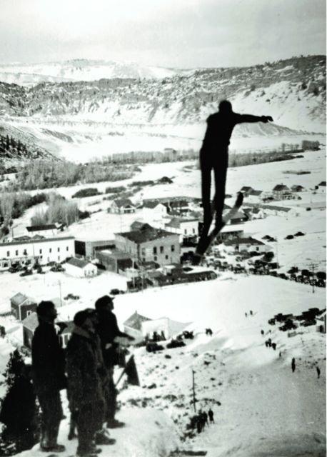 Big Ski Jump - Hot Sulphur Springs