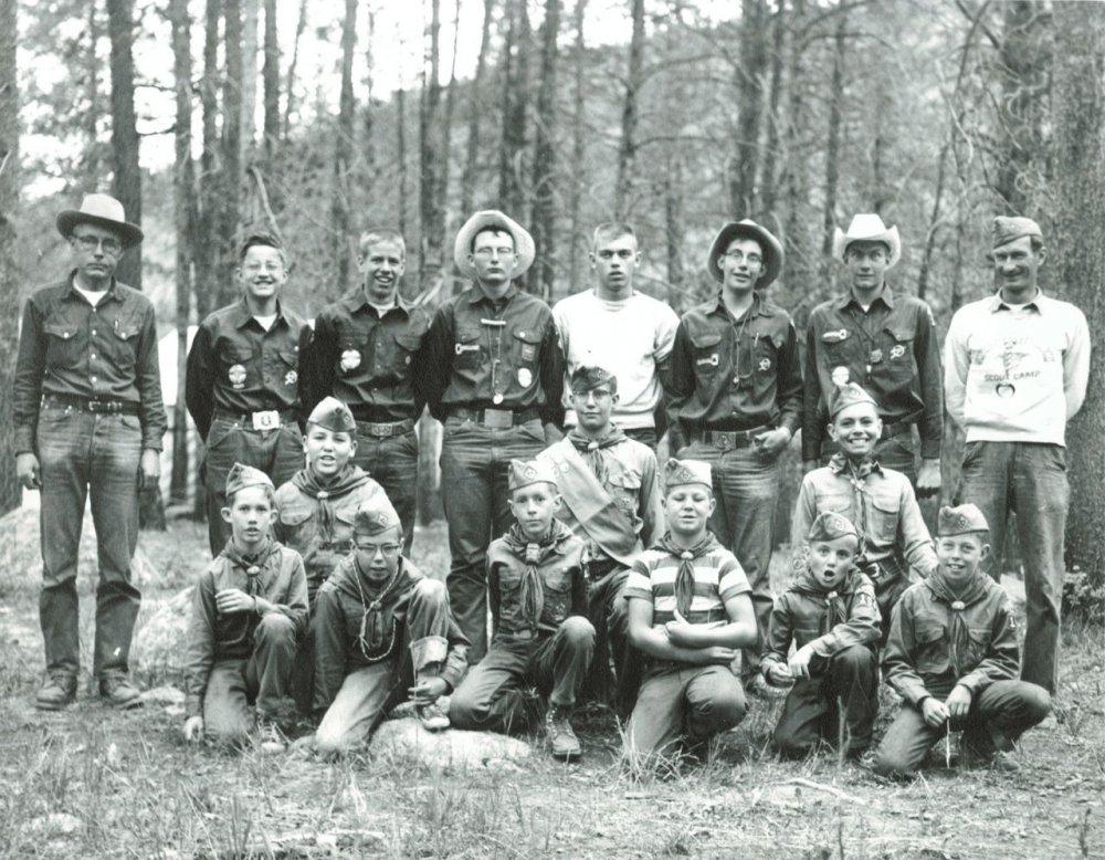 Hot Sulphur Springs Boy Scout Troop - 1950s