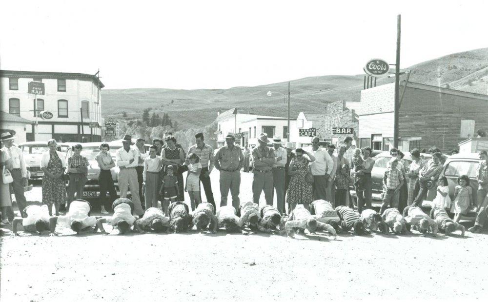 Hot Sulphur Springs 1954