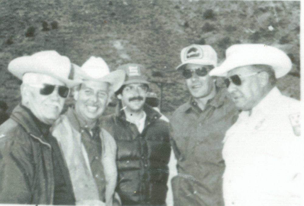 Sulphur Days 1976 5 more gentelemen - Hot Sulphur Springs, Colorado