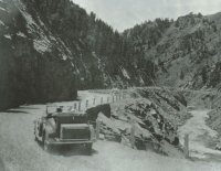 Byers Canyon Hot Sulphur Springs about 1930