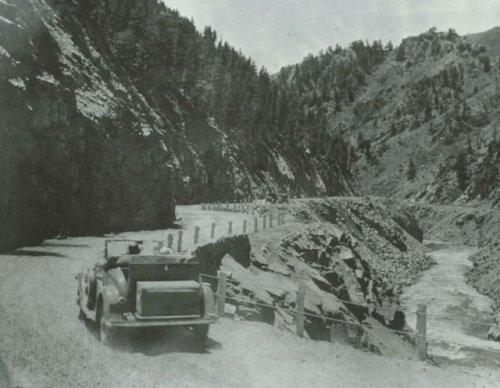 Byers Canyon - 1930