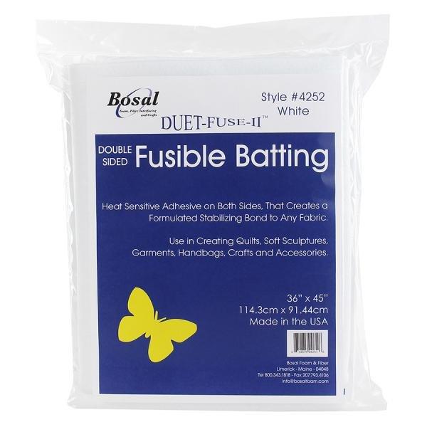 Wad Bag Bosal Duet Fuse II D/Side Fusible 36x45 #4252