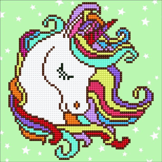 Kits Diamond Dotz Diamond Art fun Unicorn