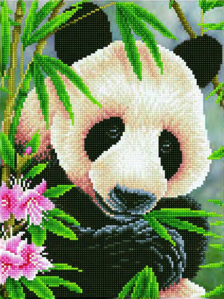Kit Diamond Dotz Panda Prince 30 x 40cm