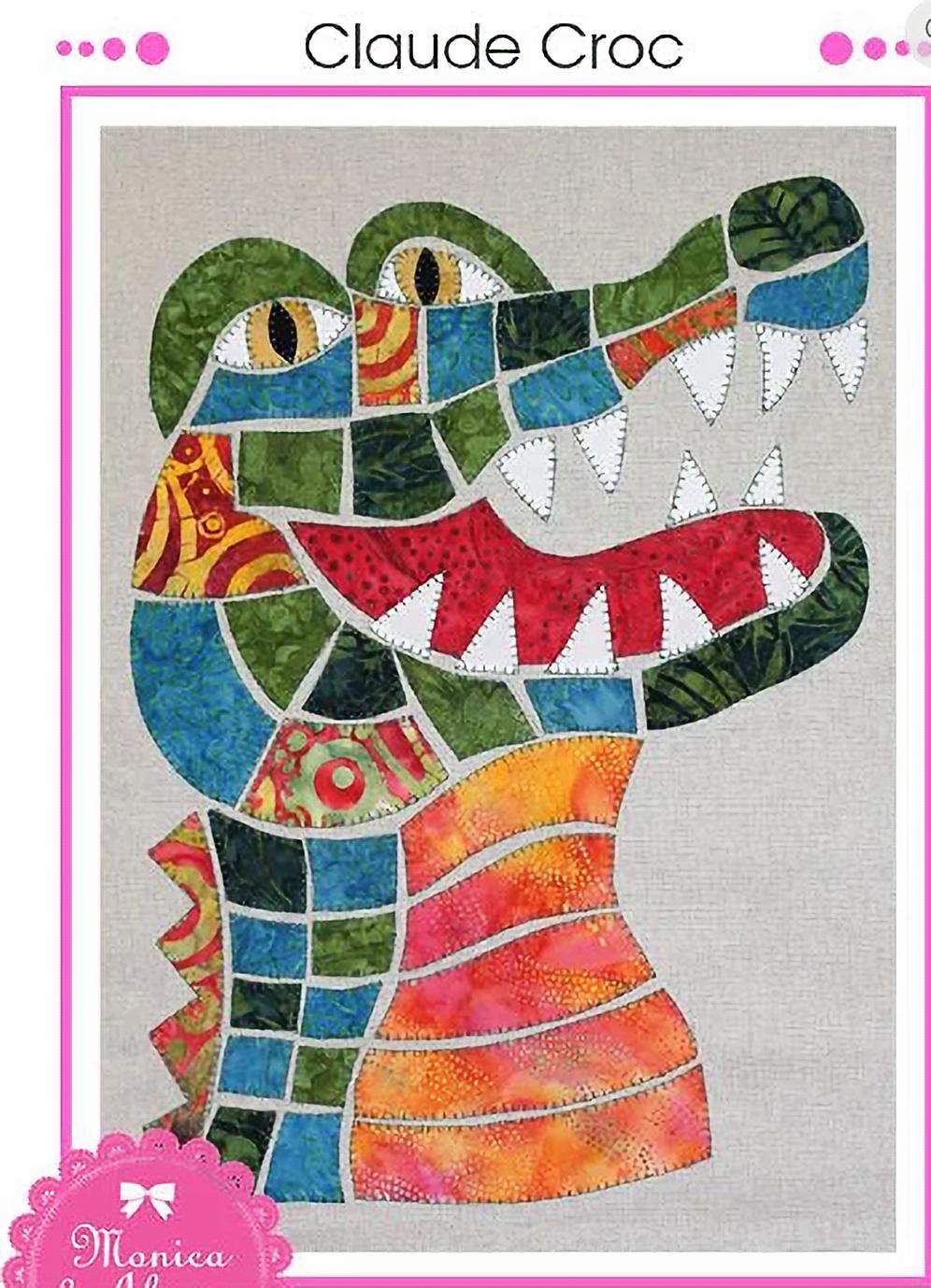 Monica Poole Pattern Claude Croc
