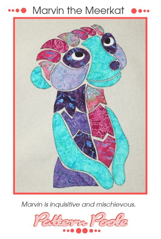 Monica Poole Pattern Marvin the Meerkat