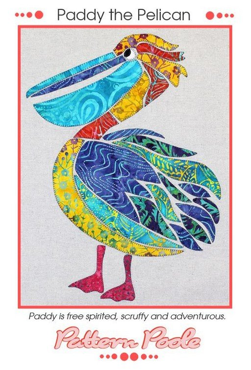 Monica Poole Pattern Paddy the Pelican