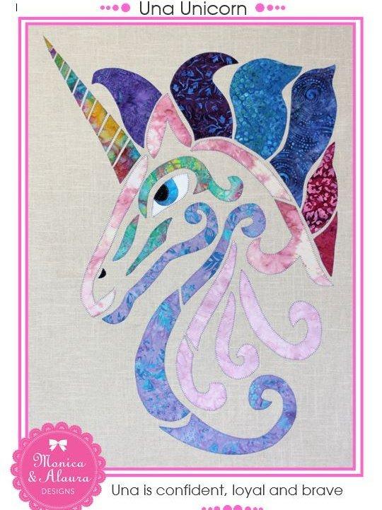 Monica Poole Pattern Una Unicorn