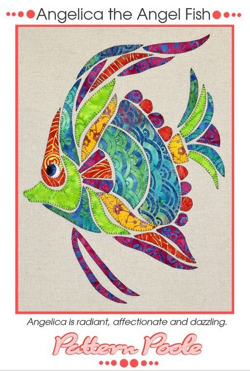 Monica Poole Pattern Angelica the Angel Fish