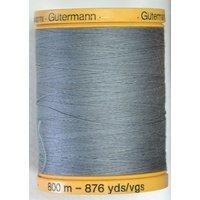 Gutermann 800m 100% Cotton Grey Col 5705