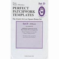 Marti Michell Perfect Patchwork Templates Set D