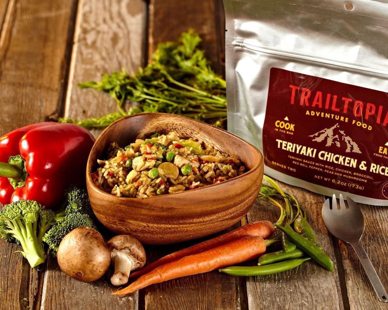 Trailtopia Teriyaki Chicken & Rice Dinner