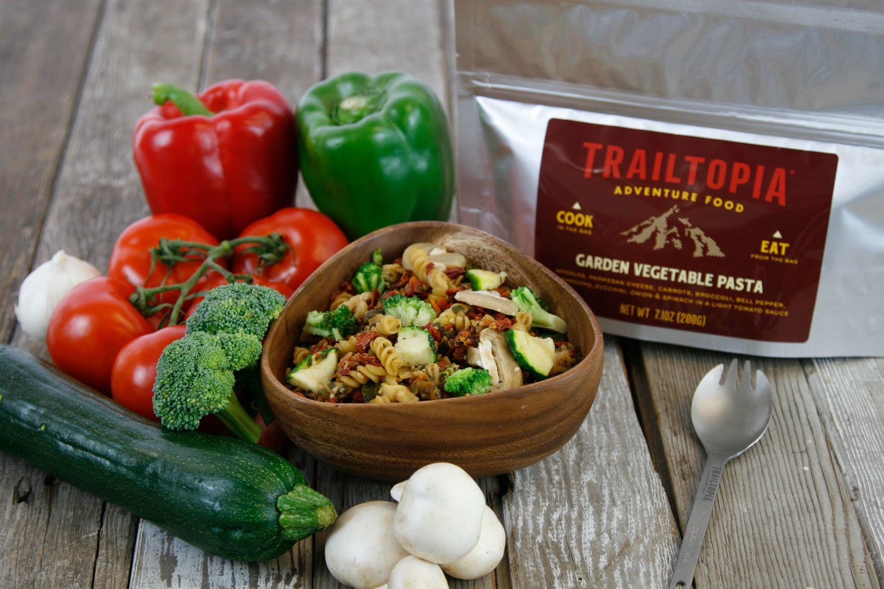 Trailtopia Garden Vegetable Pasta