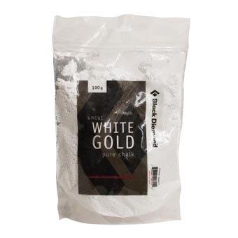 Black Diamond White Gold Uncut Pure Chalk