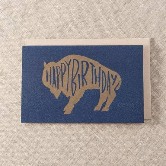 PSP Birthday Buffalo Card