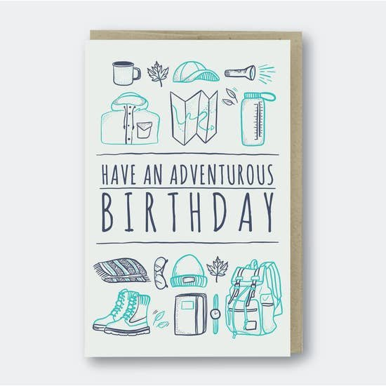 PSP Adventurous Birthday Card