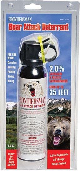 Frontiersman Bear Spray W/O Holster