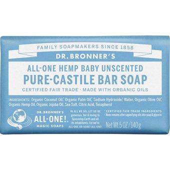 Dr Bronner's Pure-Castile Bar Soap