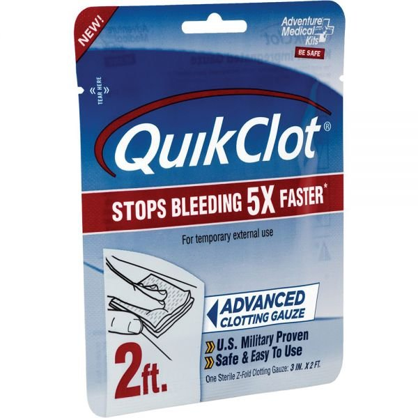 AMK Quikclot Advanced Clotting Gauze