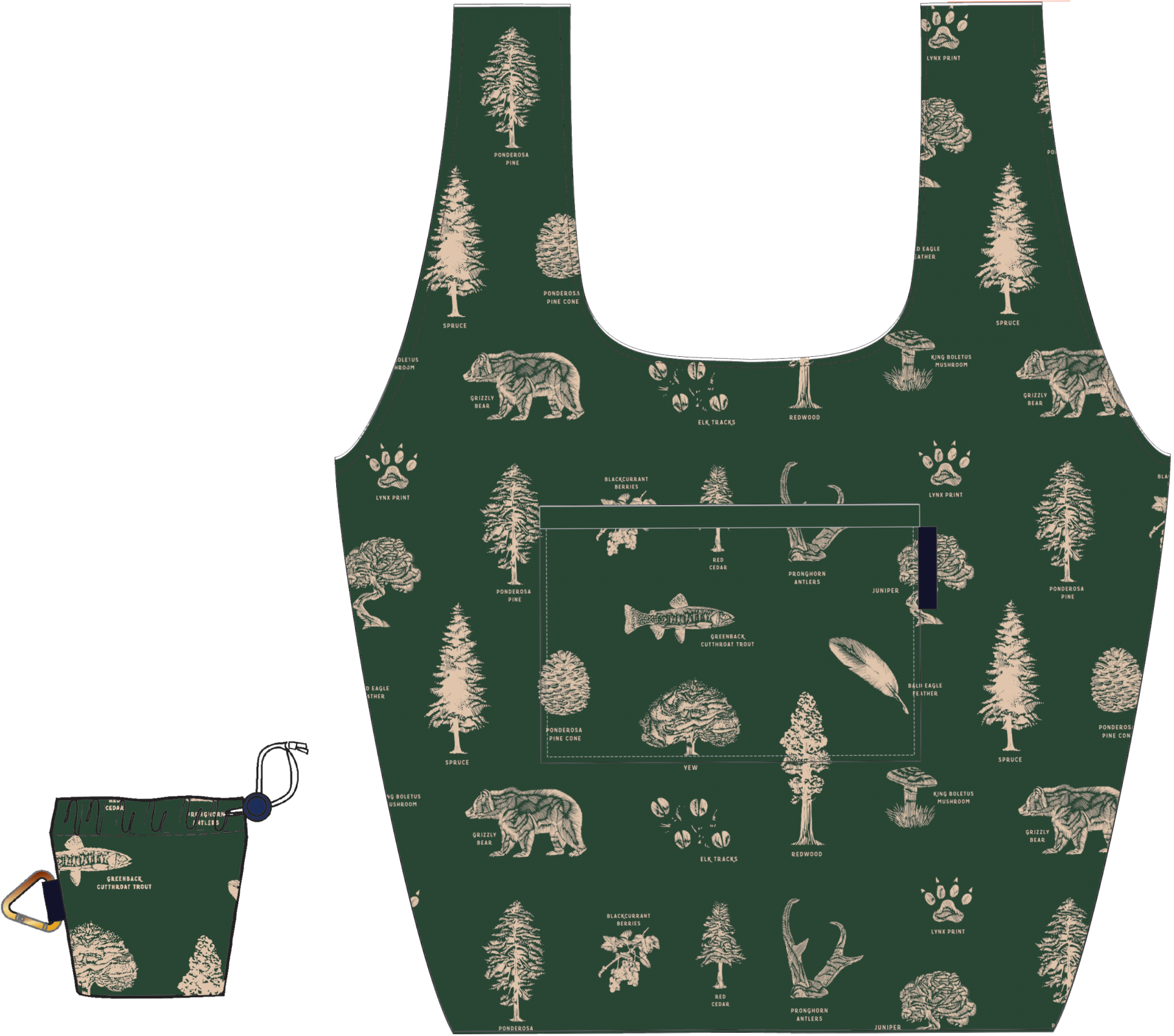 UbB Packable Tote