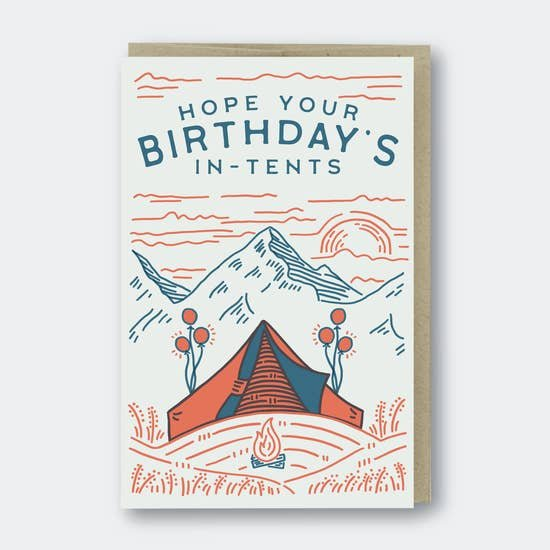 PSP In-Tents Birthday Card