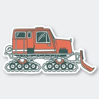 PSP Snow Cat Sticker