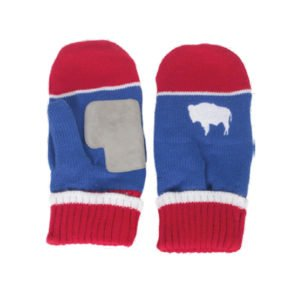 Locale Wyoming Flag Mittens