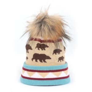 Locale Youth Furry Bear Cub Beanie