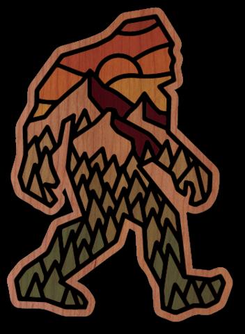 DCD Mini Wood Sticker