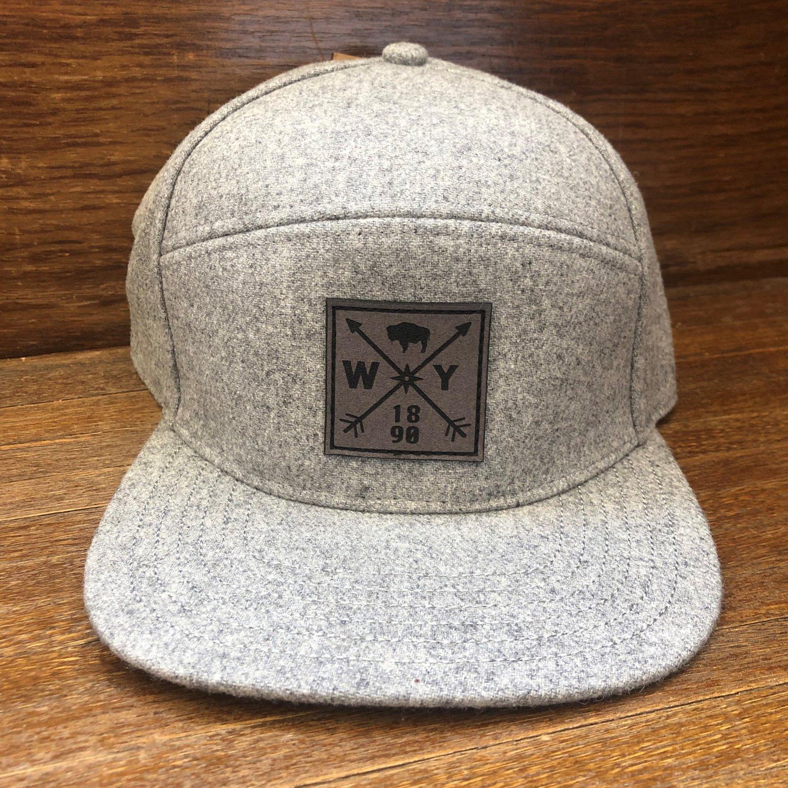 Locale 1890 7-Panel Flatbrim Cap