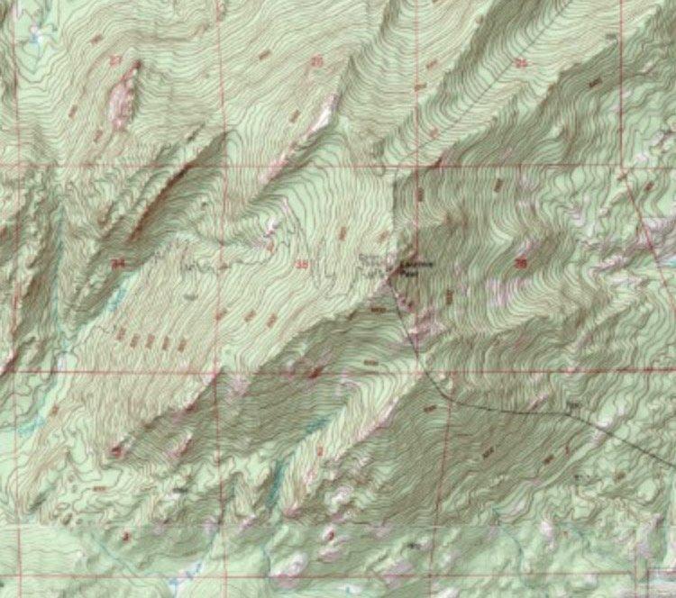 MyTopo Laramie Peak Map