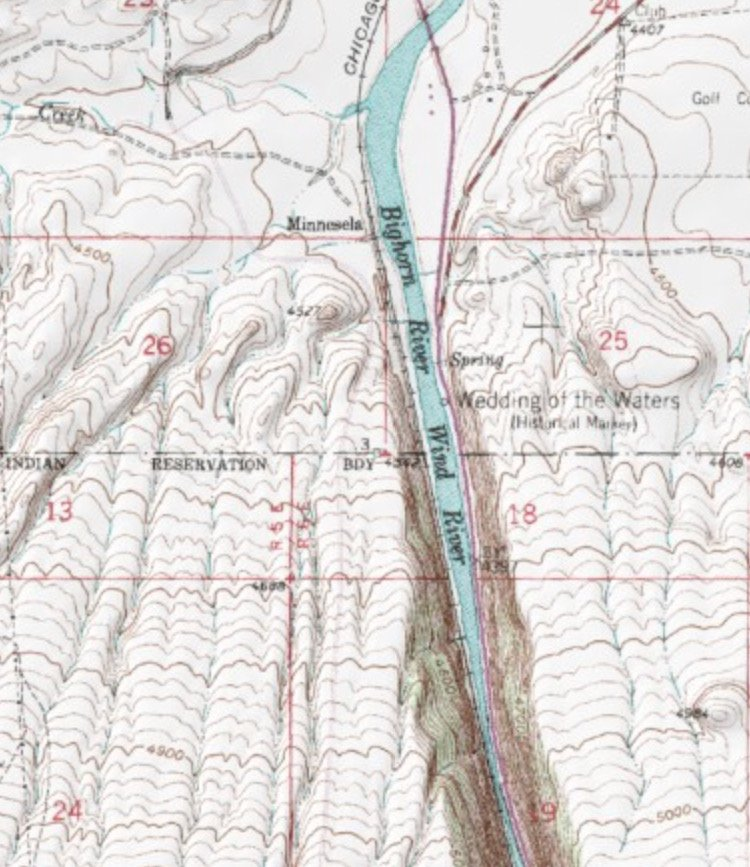MyTopo Wind River Map